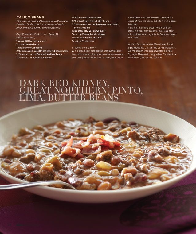 Calico Beans | Side Dishes | Pinterest