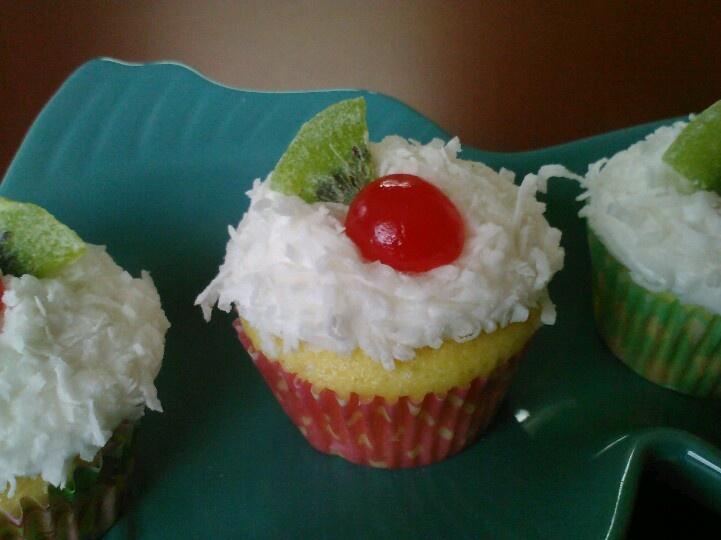 Coconut Lemon cupcake   Crazyduck Gourmet Goodies!   Pinterest