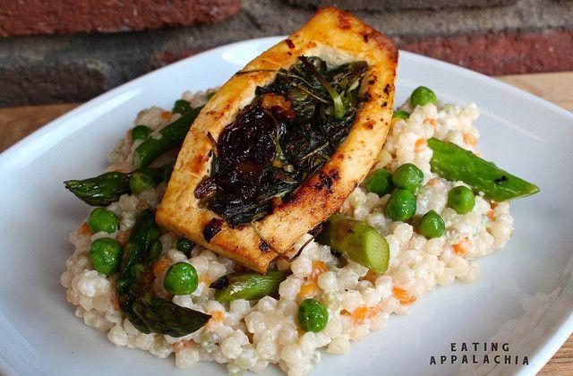 primavera tofu pocket | Just Eat It! | Pinterest