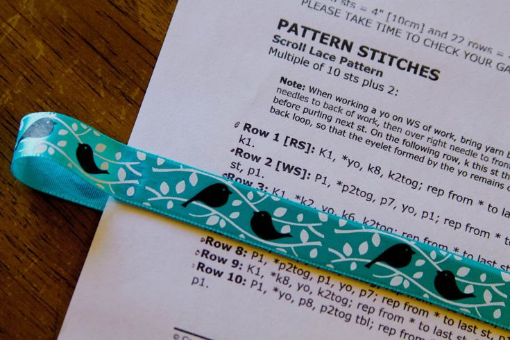 Knitting Pattern For A Book Marker : Set of 3 magnetic page markers-book markers-knitting pattern place ma?