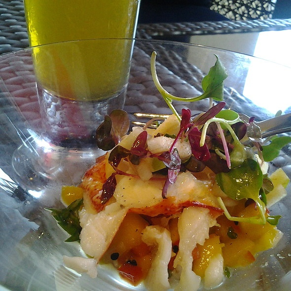 Lobster Ceviche With Mango Salsa | poodforn...lol | Pinterest