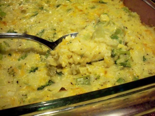 Cheesy Broccoli & Rice