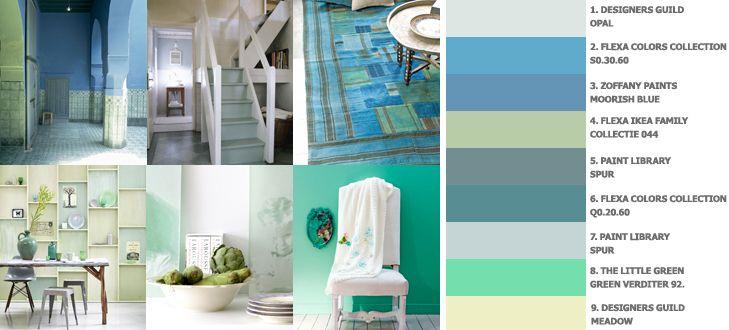 Kleuren voor in de slaapkamer  Kleuren combineren  Pinterest