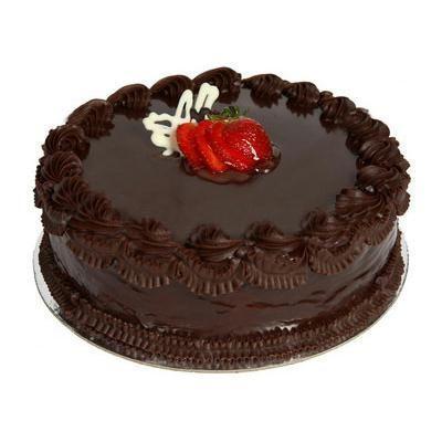 Images Of 2 Kg Cake : 2 kg chocolate truffle cake. Buy Flowers Online, Buy ...