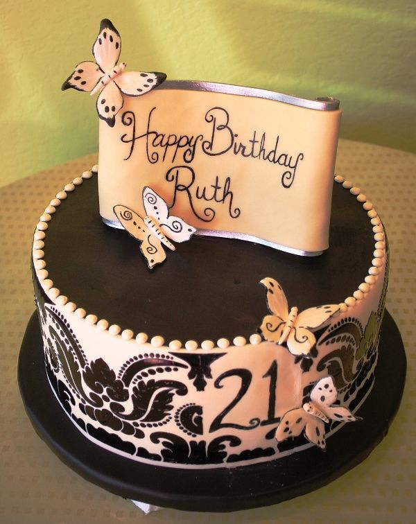 Elegant Cake Designs Birthday Cakes : Pin by Nathalie Fernando on Inspiration Decorating Sweets ...