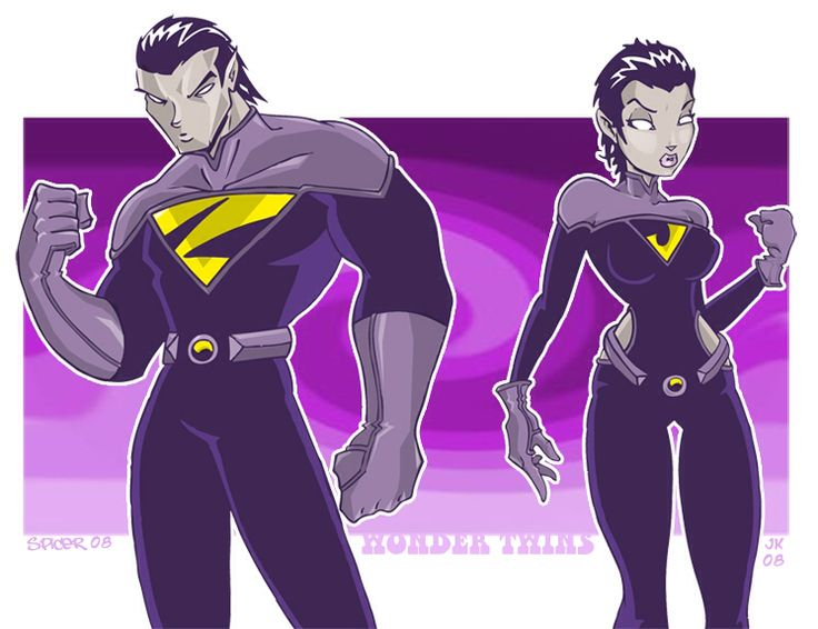 Wonder TwinsYoung Justice Wonder Twins