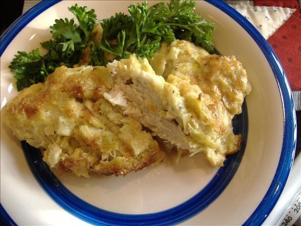 Artichoke and Chicken Bake | Recipe