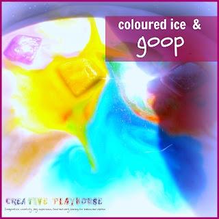Creative Playhouse: Ice and Goop
