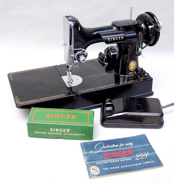 singer portable electric sewing machine 221 1 value