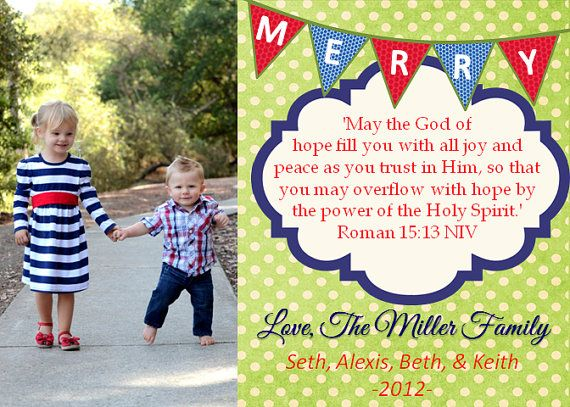 christmas cards bible verse - Christmas Card Scripture