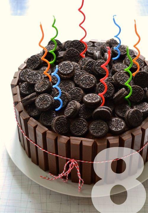 KitKat Oreo Cake | Dulce | Pinterest