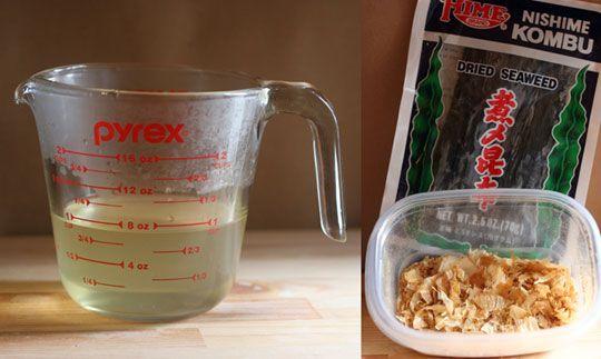 Basic Dashi Soup Stock   Recipe