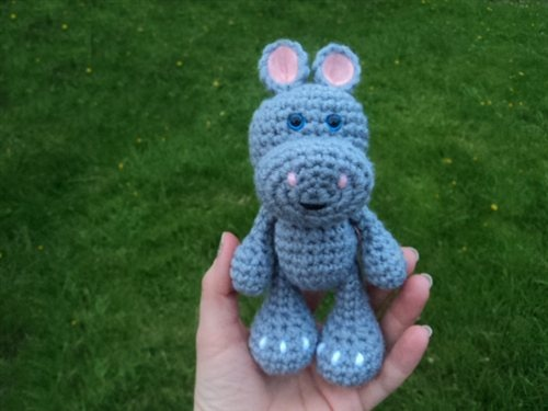 Crochet Pattern Free Hippo : Free Hippo Pattern - Crochet Me for the kids Pinterest