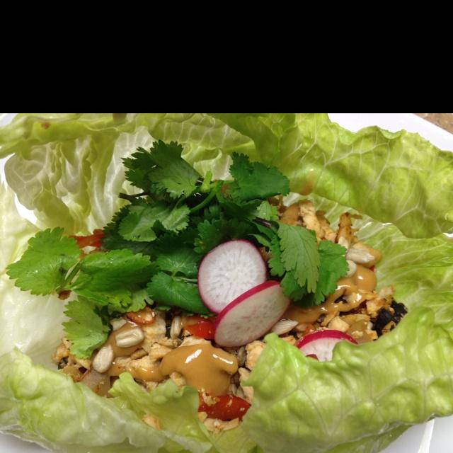 Asian Lettuce Wraps | Healthy Living | Pinterest