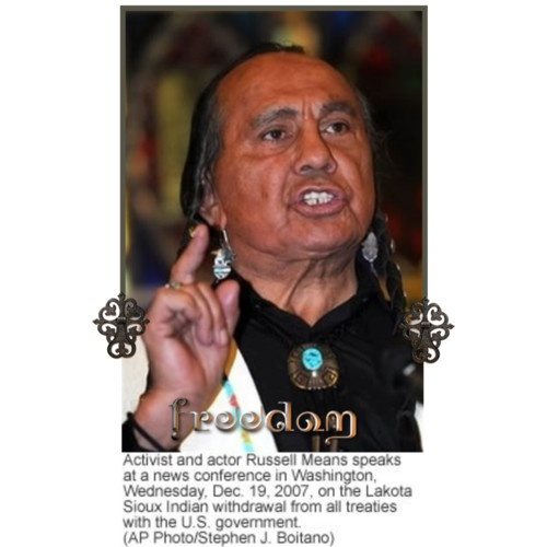 freedom is for everyone whatever lifest by russell means