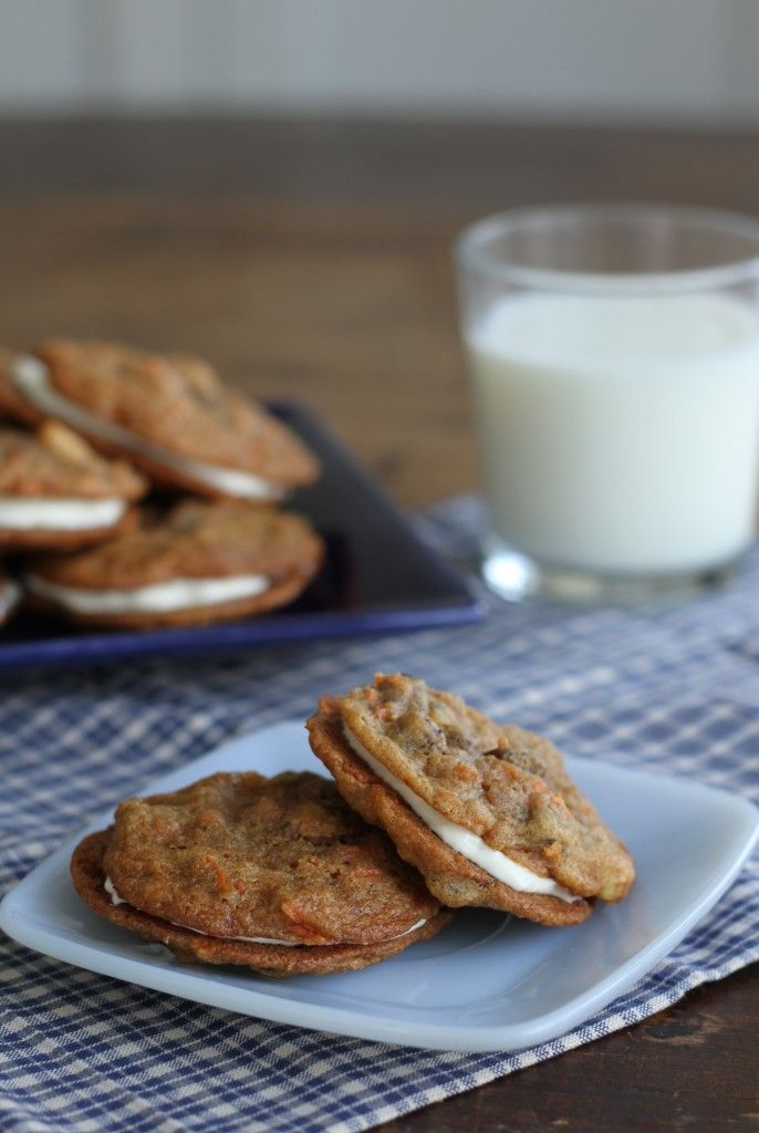 Inside Out Carrot Cake Cookies | Brittany's Pantry | Favorite Recipes ...