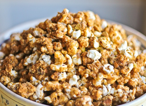 Garam Masala Caramel Corn--Ok totally not Indian but this is the ...