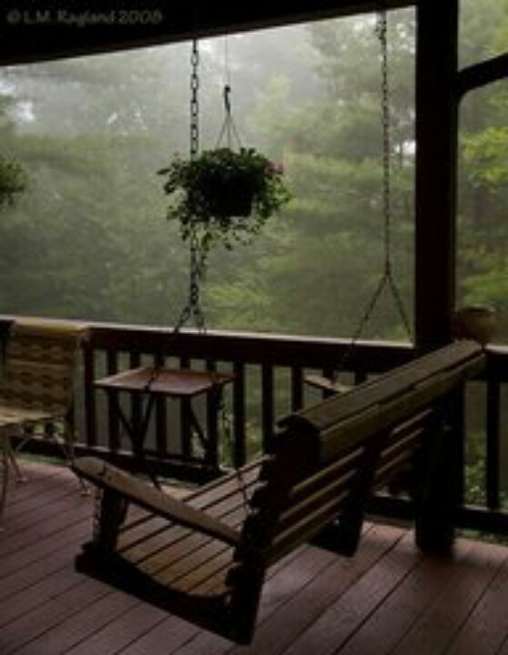 Beautiful Front Porch Swing Just A Swinging Pinterest