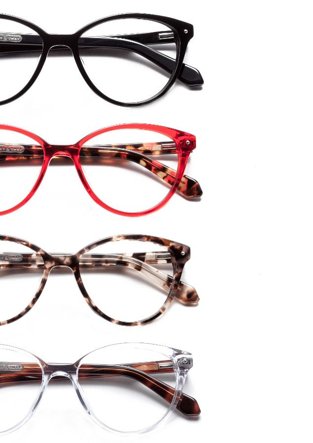 Eyeglass Frames For Narrow Face : Curvy and cute, the Ampersand frames are perfect for ...