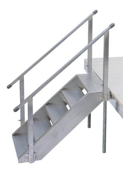 D.H. Aluminum Dock Stairs | Camper | Pinterest