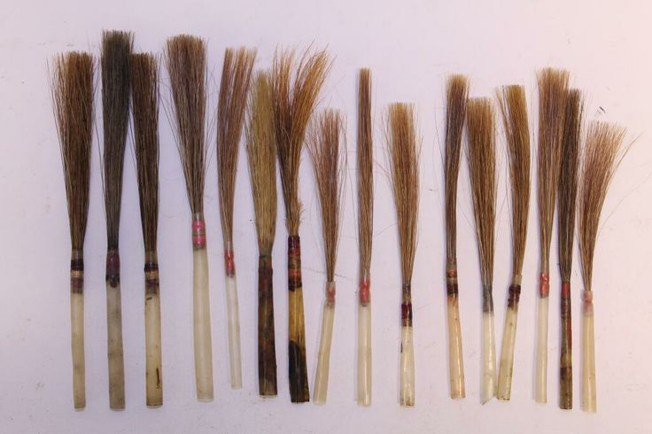 Pin by lut gielen on paint brushes to faux lettering for Faux painting brushes