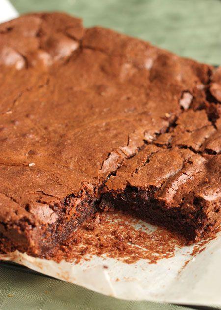 Scientifically Sweet: Deep Dark Chocolate Fudge Brownies. This blog ...