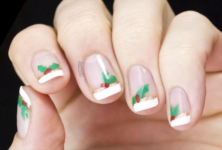 Mistletoe Nail Designs Mistletoe Nails