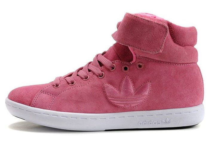 Lovely pink half boot adidas shoes