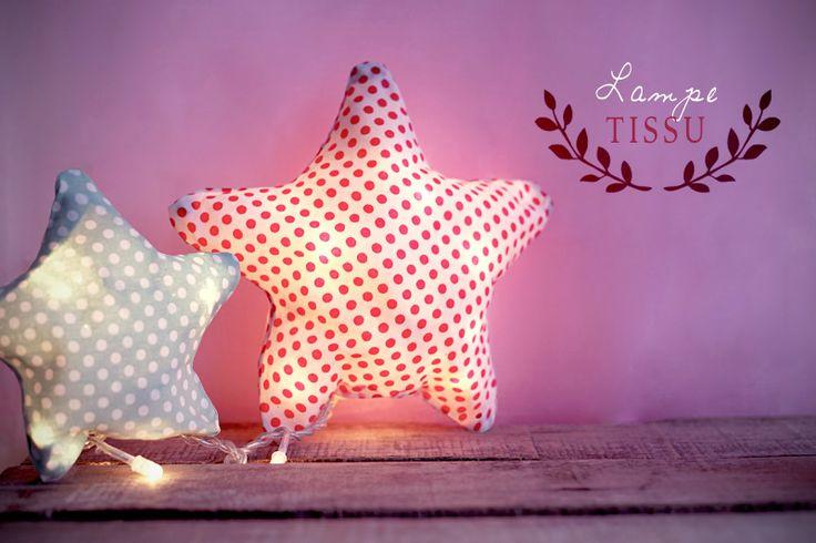 .: DIY :: LAMPE TISSU