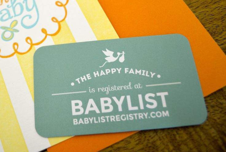 BabyList will now send you free registry insert cards