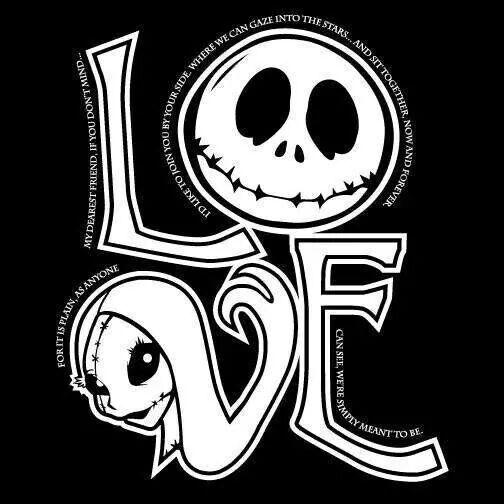 love jack and sally   Everlasting Love   Pinterest