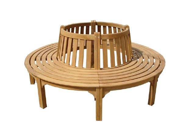 Semi circular tree bench gardening pinterest Circular tree bench