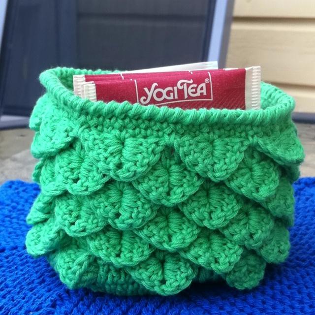 Crocodile stitch crochet New stitches Pinterest