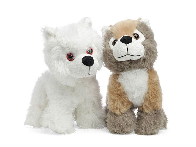 Game of Thrones Direwolf plush pup toy (maybe for you, not the kids?)