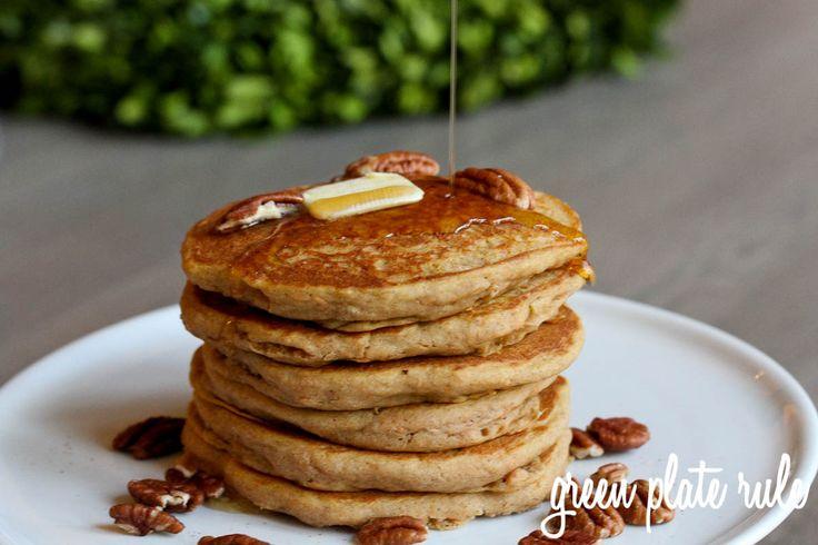 Sweet Potato Pancakes {Gluten-free} -- using leftover sweet potato ...