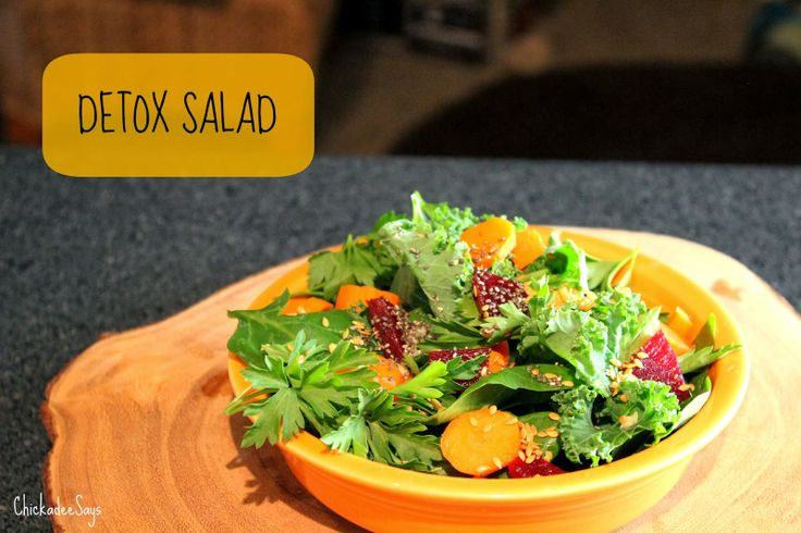 Meatless Monday: Detox Salad @Meatless Monday #vegan #vegetarian
