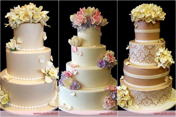 Hochzeitstorte  Hochzeitstorte Hochzeitskuchen  Wedding cake  Pint ...