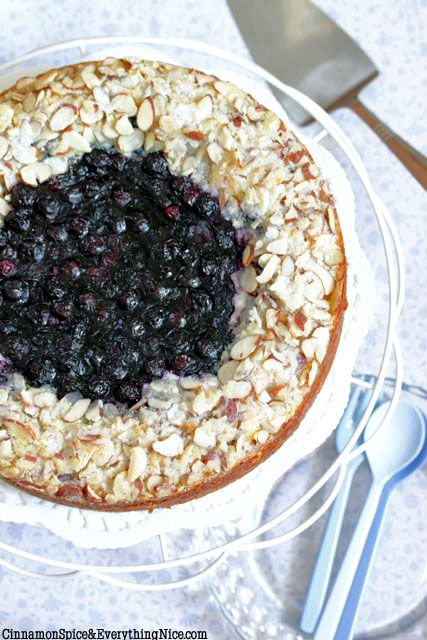 Blueberry Cream Cheese Coffee Cake | Recipe