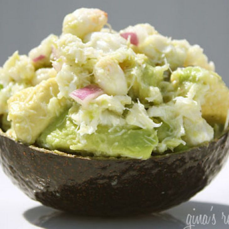 Avocado and Crab Salad | Salads | Pinterest