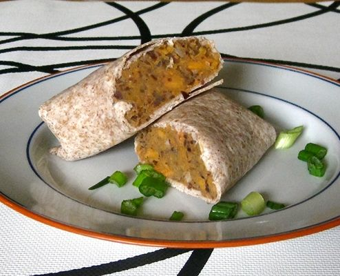 sweet potato sweet potato burritos addictive sweet potato burritos ...
