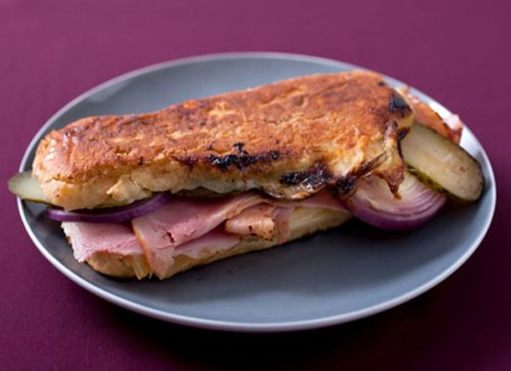 Grilled Gruyere Panini With Pickled Sweet Onions Recipe — Dishmaps