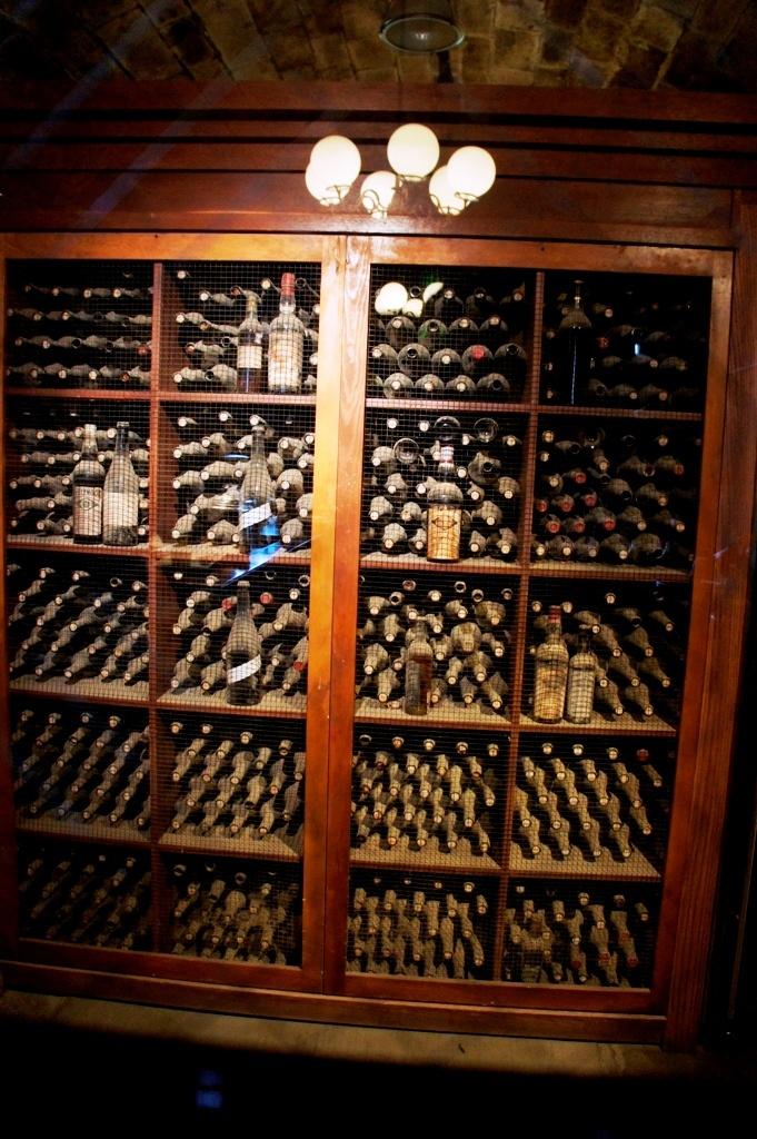 Inglenook Estate cellar