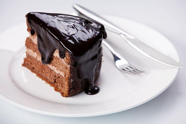 Chocolate pie by Natalia Lisovskaya