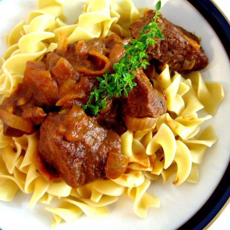 hungarian beef goulash with paprika goulash classic goulash veal ...