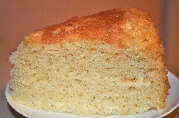 Торт 3 молока с фото
