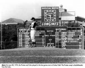 forbes field essays and memories