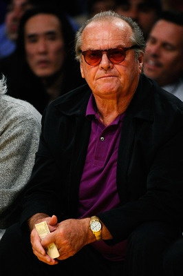 Though not as cute and cuddly as other mascots, Jack Nicholson has been a season ticker holder since the '70s, making him the LA Lakers unofficial mascot.