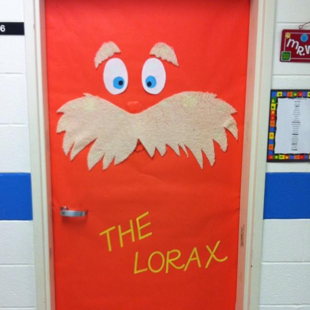 Classroom Door Decoration Ideas Reading : Classroom door decor the lorax pinterest