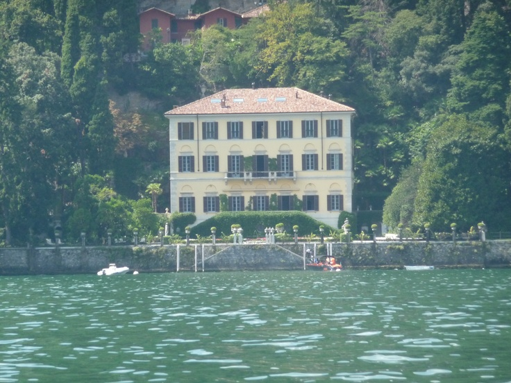George Clooney's Italian Villa on Lake Como