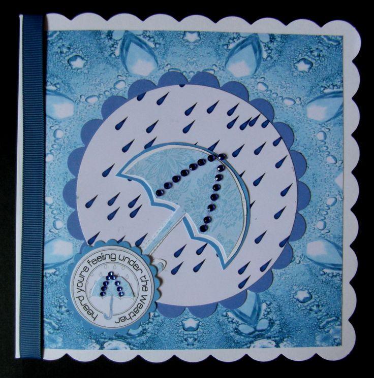 Hand made Get Well card | Card Making | Pinterest